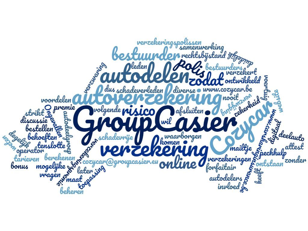 Group Casier verzekert autodelen
