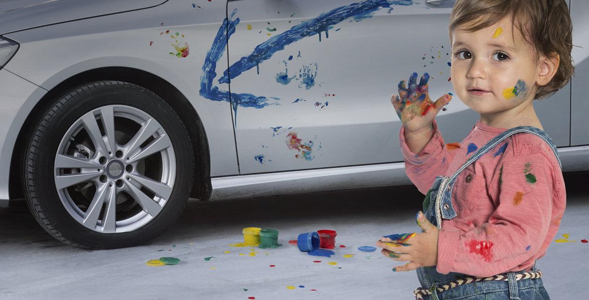 Wacht niet op een teken van je kinderen. Check elke maand je bandenspanning!