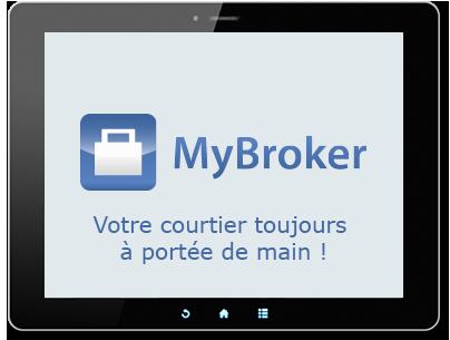 MyBroker également disponible sur votre Tablette